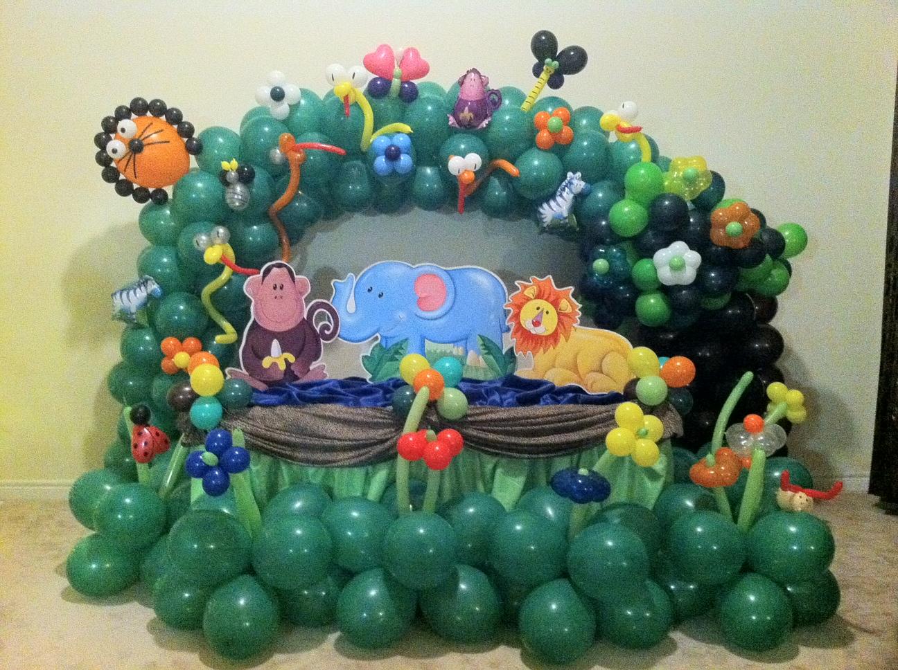 Jungle Decoration Jungle Decoration Boys Cake Table Decoration Fiesta4kids
