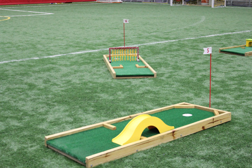 ... Backyard Mini Golf Game By Mini Golf Set 9 Holes New Products 2015  Fiesta4kids ...