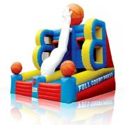 inflatable rentals, basketball games bouncy castle