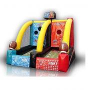 inflatable quarterback blitz